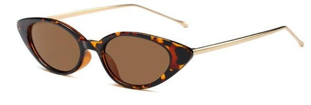 Shiori - C7 leopard frame bla - Women's Sunglasses - Cat Eye Sunglasses - Crissado
