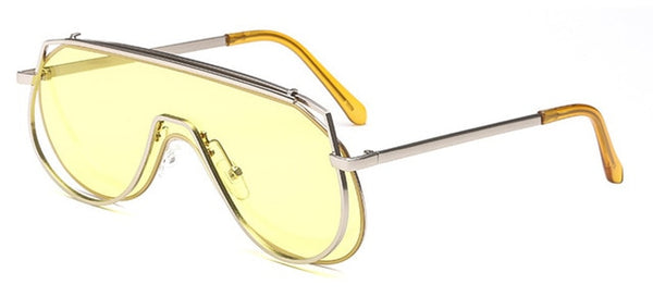 Pandora Sunglasses-Yellow-Women's Sunglasses--Lensuit