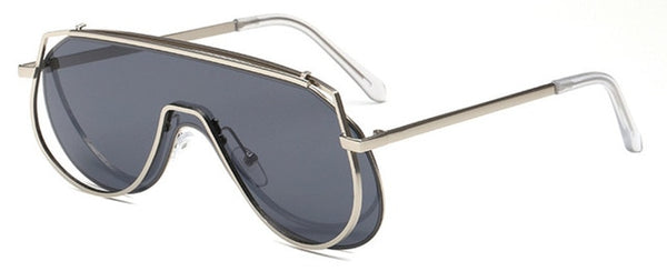Pandora Sunglasses-Silver Grey-Women's Sunglasses--Lensuit
