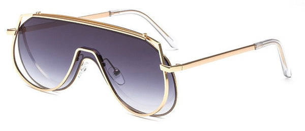 Pandora Sunglasses-Golden Grey Gradient-Women's Sunglasses--Lensuit