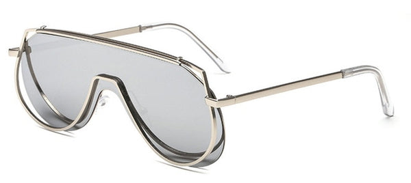 Pandora Sunglasses-Silver Mirror-Women's Sunglasses--Lensuit