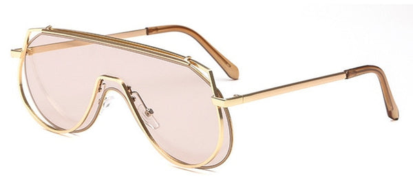 Pandora Sunglasses-Champagne-Women's Sunglasses--Lensuit