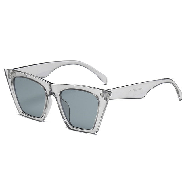 HOOVER Sunglasses-C6 Gray-Women's Sunglasses-Wayfarers-Lensuit
