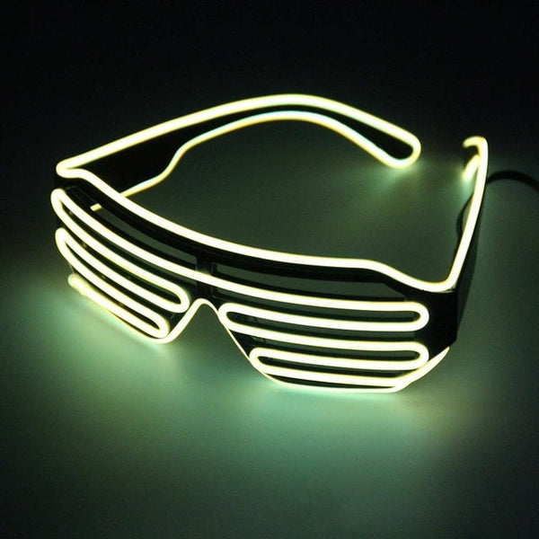 Scattershot LED Night Glasses - Fluorescent - Men's & Women's Sunglasses -  - Crissado
