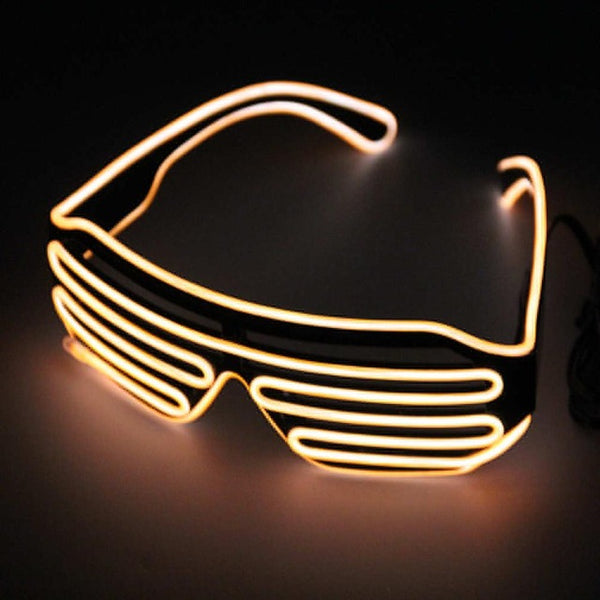 Scattershot LED Night Glasses - Yellow - Men's & Women's Sunglasses -  - Crissado