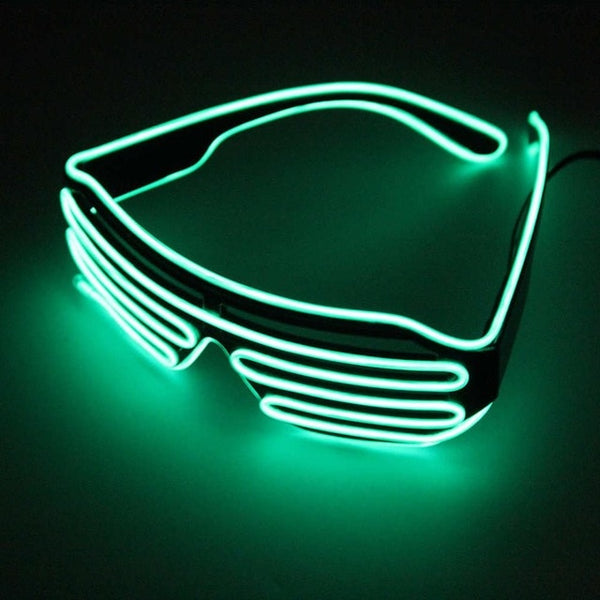 Scattershot LED Night Glasses - Green - Men's & Women's Sunglasses -  - Crissado