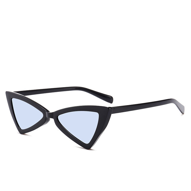 Madeleine - Bblue - Women's Sunglasses - Cat Eye Sunglasses - Crissado