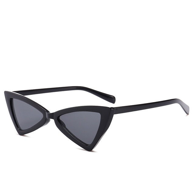 Madeleine - Bgray - Women's Sunglasses - Cat Eye Sunglasses - Crissado