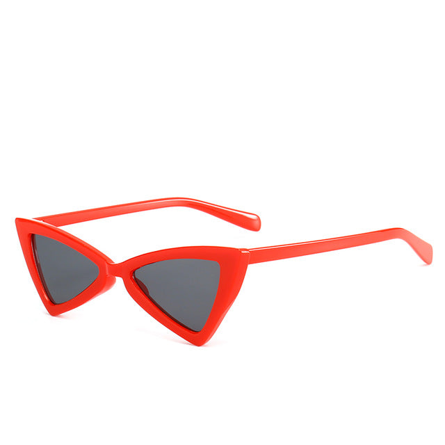 Madeleine - Rgray - Women's Sunglasses - Cat Eye Sunglasses - Crissado