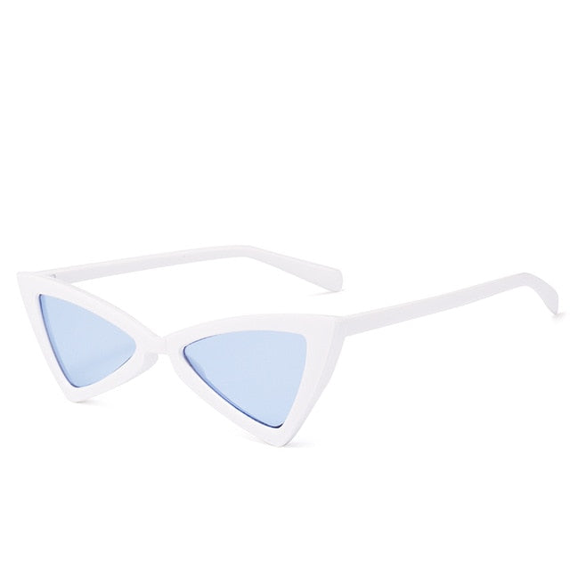 Madeleine - Wblue - Women's Sunglasses - Cat Eye Sunglasses - Crissado