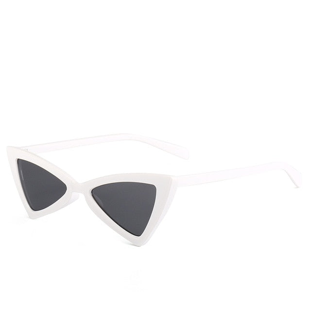 Madeleine - Wgray - Women's Sunglasses - Cat Eye Sunglasses - Crissado
