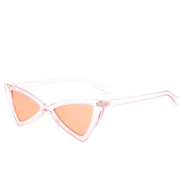 Madeleine - Pink - Women's Sunglasses - Cat Eye Sunglasses - Crissado