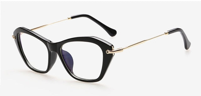 Romet Sunglasses-Black-Women's Sunglasses-Cat Eye Sunglasses-Lensuit