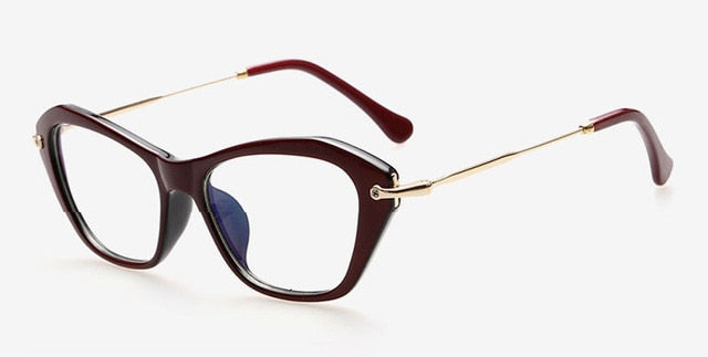 Romet Sunglasses-Burgundy-Women's Sunglasses-Cat Eye Sunglasses-Lensuit
