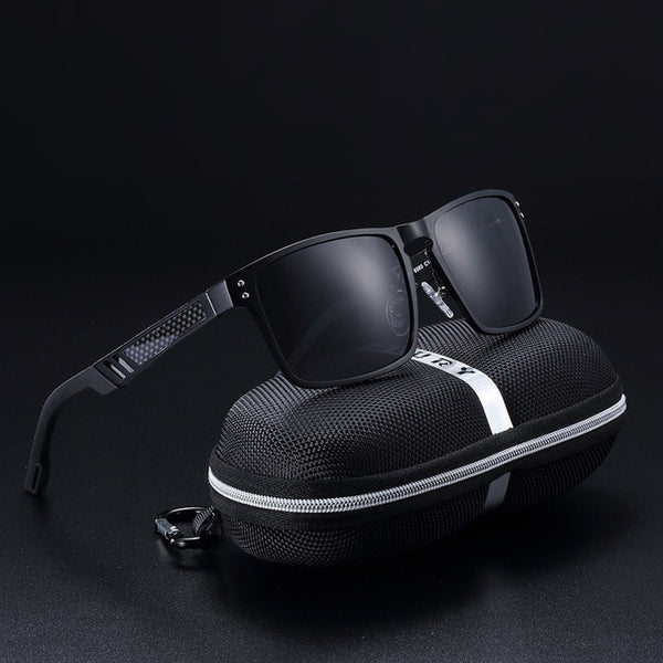 Grimlock - Black & Gray - Men's Sunglasses - Celebrity Sunglasses - Crissado