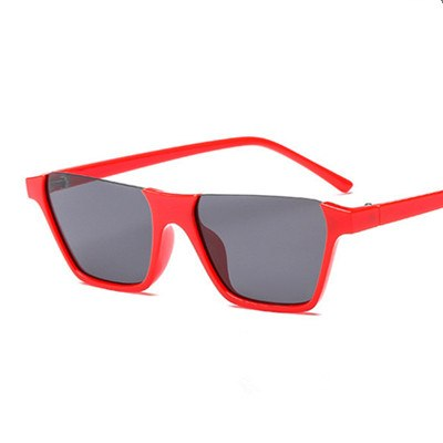 Hioffpo Sunglasses-C2 Red.Grey-Women's Sunglasses-Vintage Sunglasses-Lensuit