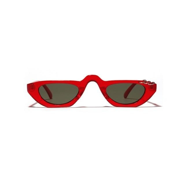 Arya - red frame / as show in photo - Women's Sunglasses - Vintage Sunglasses - Crissado