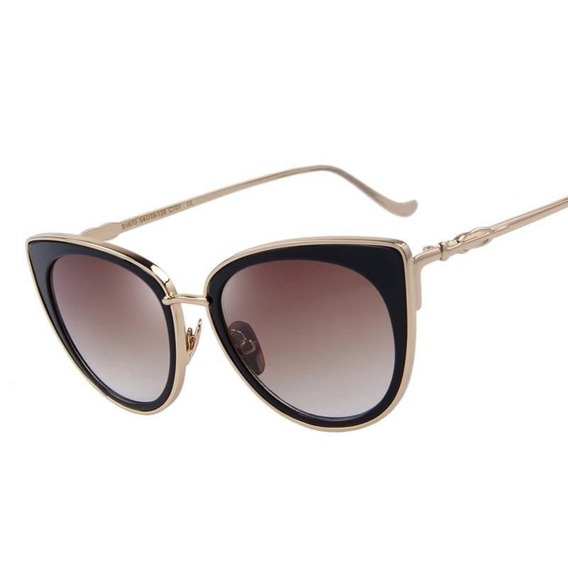 Ann--Women's Sunglasses-Cat Eye Sunglasses-Lensuit