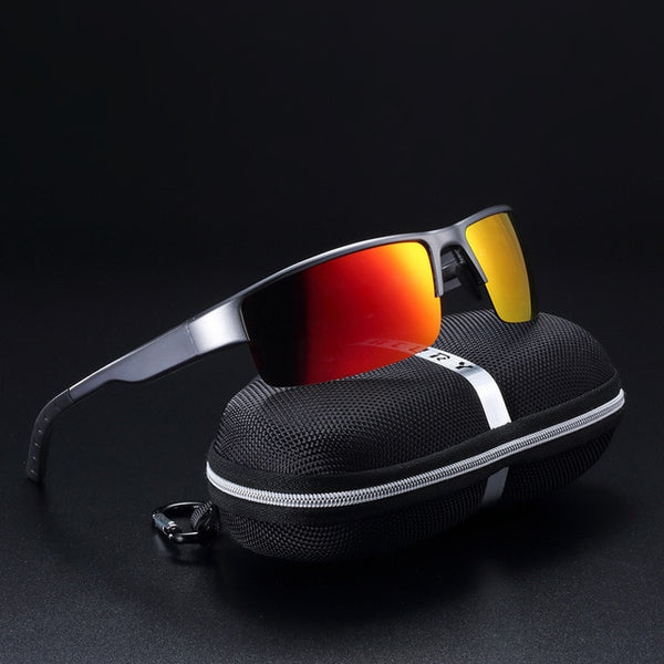 Scavenger - Orange Red - Men's Sunglasses - Celebrity Sunglasses - Crissado