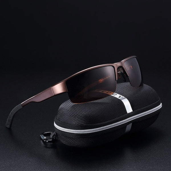 Scavenger - Coffee - Men's Sunglasses - Celebrity Sunglasses - Crissado
