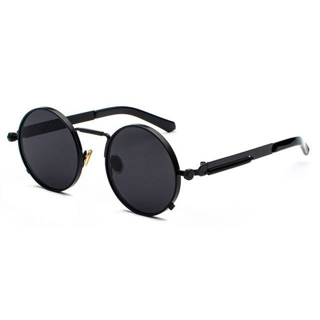 BUBBA - full black / as shown in photo - Men's Sunglasses - Steampunk Sunglasses - Crissado