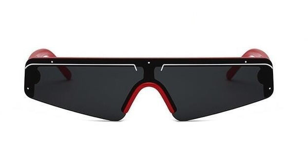 Moonracer Sunglasses-Red All Grey-Men's Sunglasses--Lensuit