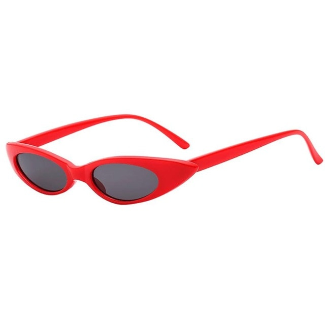 Lilo - Red - Women's Sunglasses - Cat Eye Sunglasses - Crissado