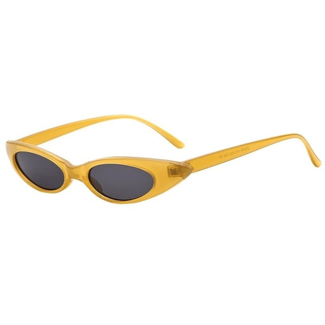 Lilo - Yellow - Women's Sunglasses - Cat Eye Sunglasses - Crissado
