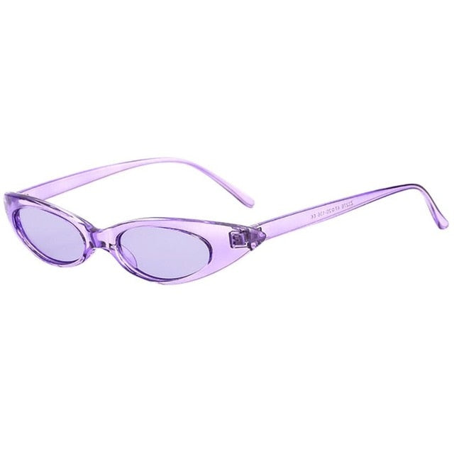 Lilo - Purple - Women's Sunglasses - Cat Eye Sunglasses - Crissado
