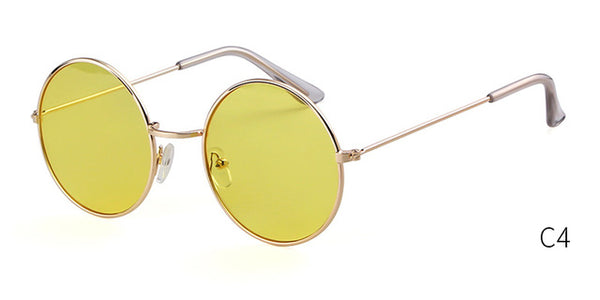 Dubois - C4 GLOD LIGHT YELLOW - Men's & Women's Sunglasses - Round Sunglasses - Crissado