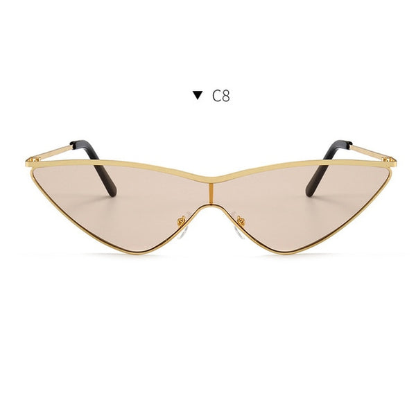 Curmudgeon - C8 - Women's Sunglasses - Cat Eye Sunglasses - Crissado