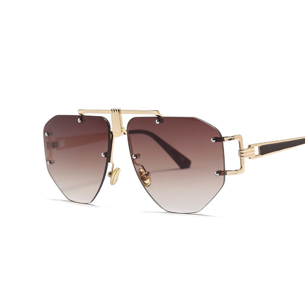 Cyclonus - gold tea - Men's & Women's Sunglasses - Aviators - Crissado