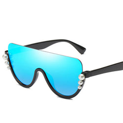 Bopster - C1 Black.Blue - Men's & Women's Sunglasses - Cat Eye Sunglasses - Crissado