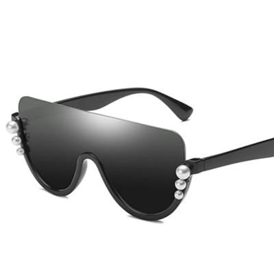 Bopster - C3 Black.BlackGrey - Men's & Women's Sunglasses - Cat Eye Sunglasses - Crissado