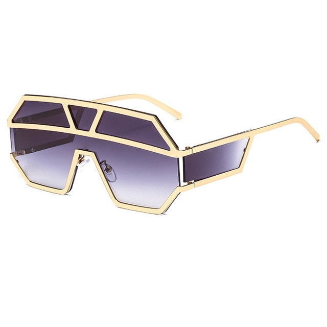 Arkeville - C2Gold-Gradient Grey - Men's & Women's Sunglasses -  - Crissado