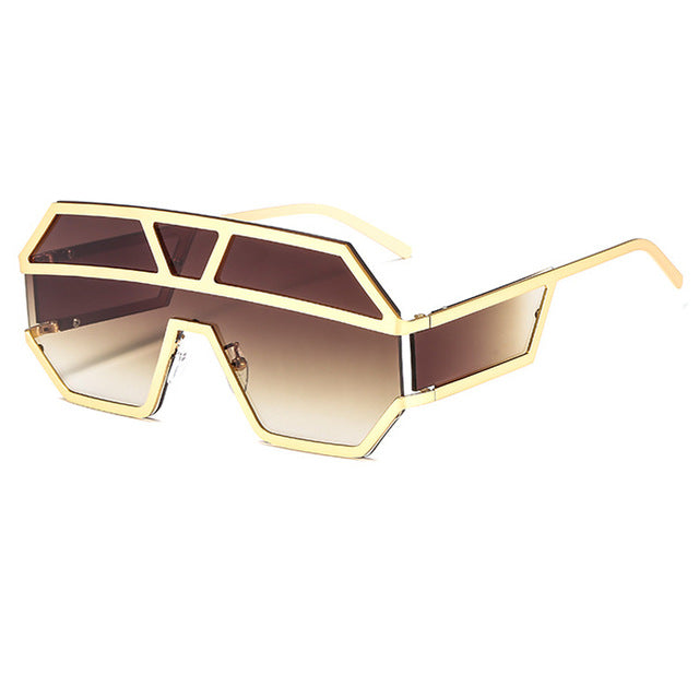 Arkeville - C3-Gold-Brown - Men's & Women's Sunglasses -  - Crissado
