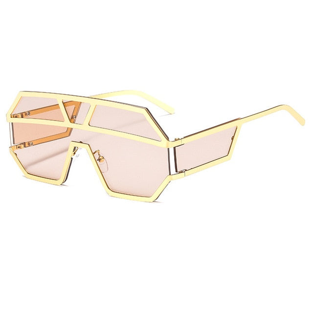 Arkeville - C4-Gold-Light Pink - Men's & Women's Sunglasses -  - Crissado