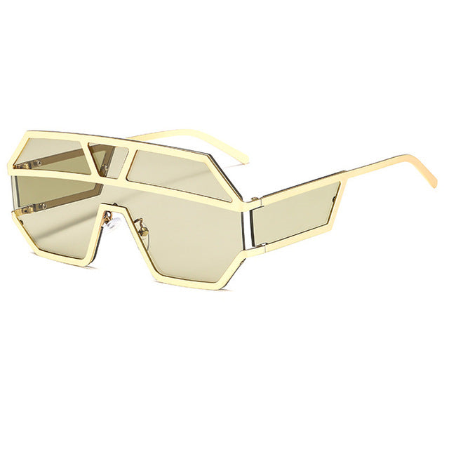 Arkeville - C5-Gold-Light Brown - Men's & Women's Sunglasses -  - Crissado