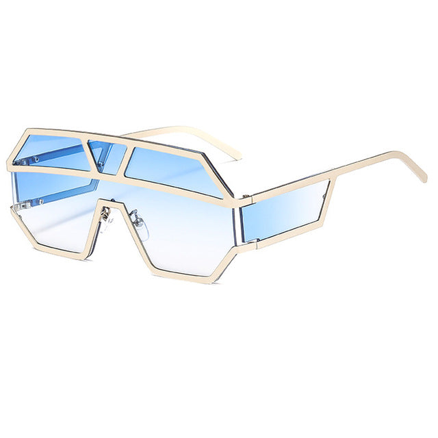 Arkeville - C7-Silver-Blue - Men's & Women's Sunglasses -  - Crissado
