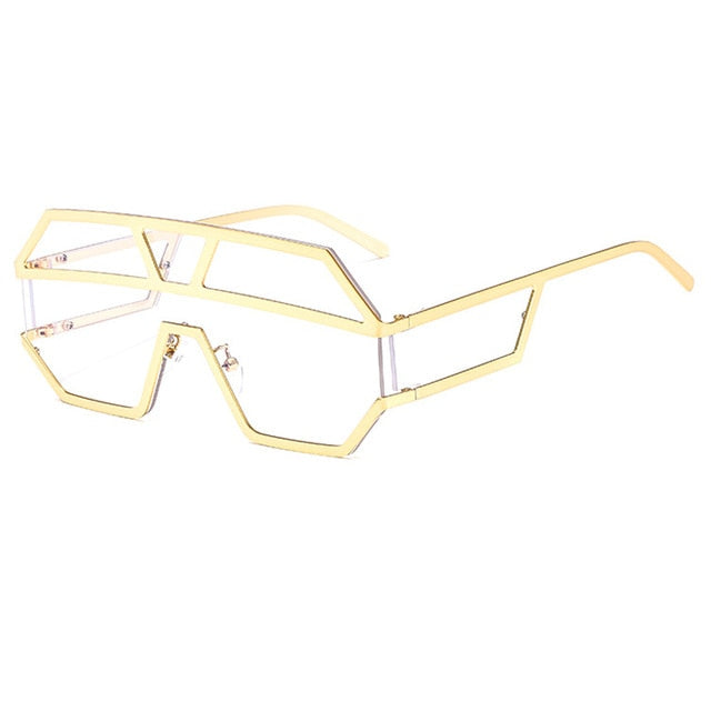 Arkeville - C8-Gold-Clear - Men's & Women's Sunglasses -  - Crissado