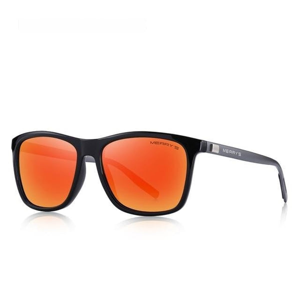WILDRIDER - C06 Red - Men's Sunglasses - Wayfarers - Crissado