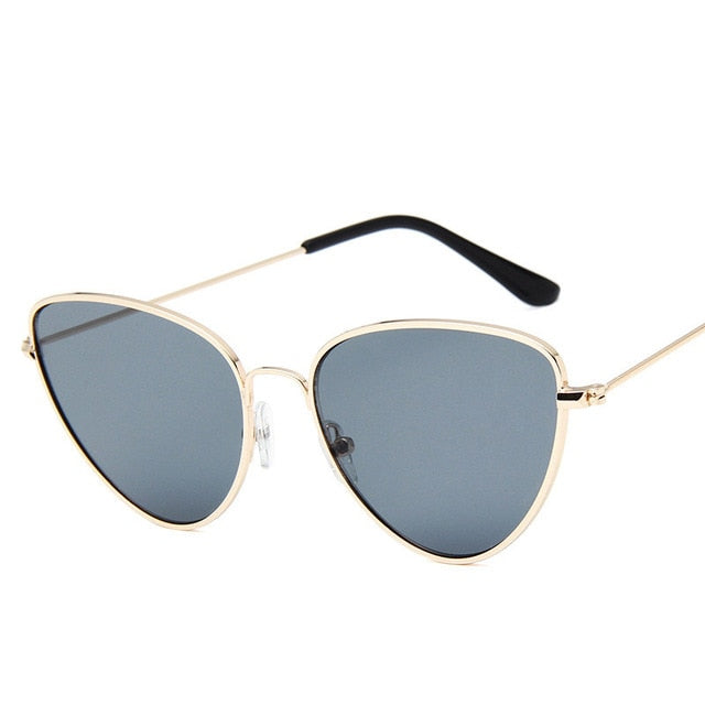 Lisbeth Sunglasses-GoldGray-Women's Sunglasses--Lensuit