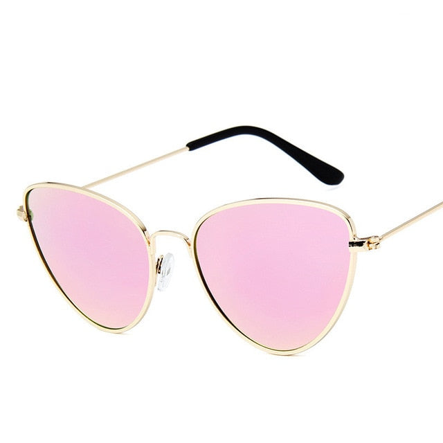 Lisbeth Sunglasses-GoldPink-Women's Sunglasses--Lensuit