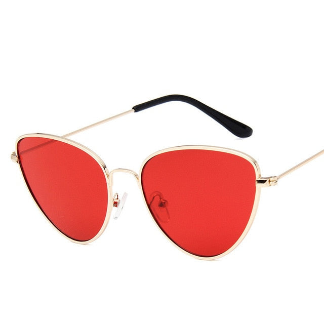 Lisbeth Sunglasses-GoldRed-Women's Sunglasses--Lensuit