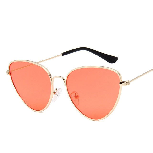 Lisbeth Sunglasses-GoldRed1-Women's Sunglasses--Lensuit