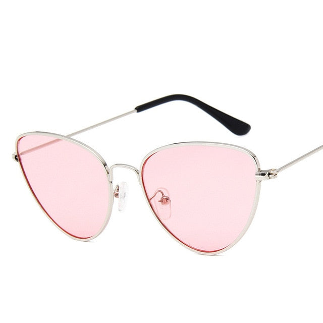 Lisbeth Sunglasses-SilverPink-Women's Sunglasses--Lensuit