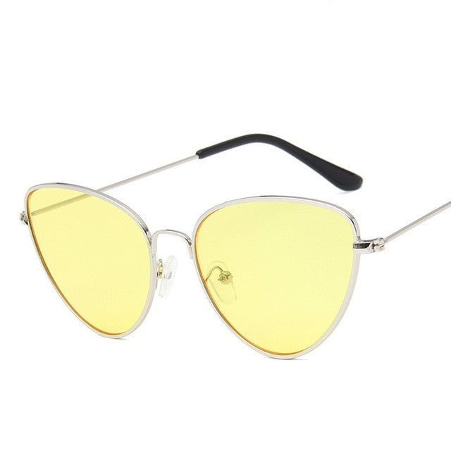 Lisbeth Sunglasses-SilverYellow-Women's Sunglasses--Lensuit