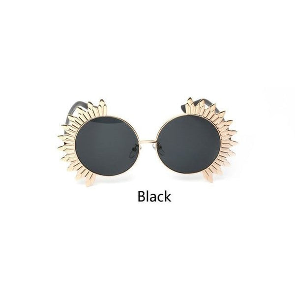 Cypher - Black / photo colors - Women's Sunglasses - Round Sunglasses - Crissado
