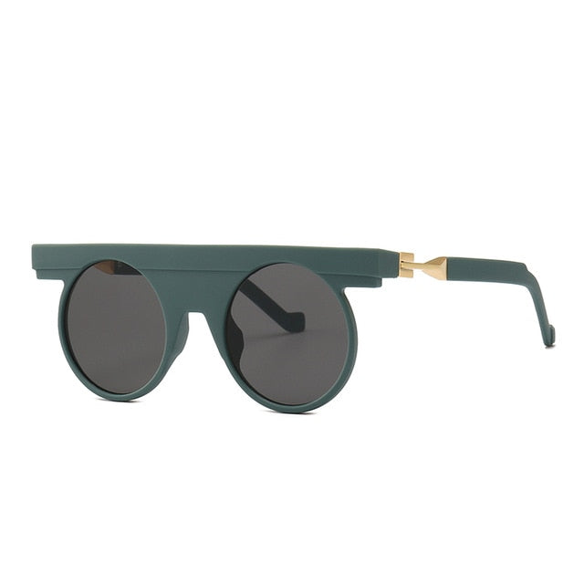 Pirend - C2 Dark Green.Gray - Men's Sunglasses - Steampunk Sunglasses - Crissado