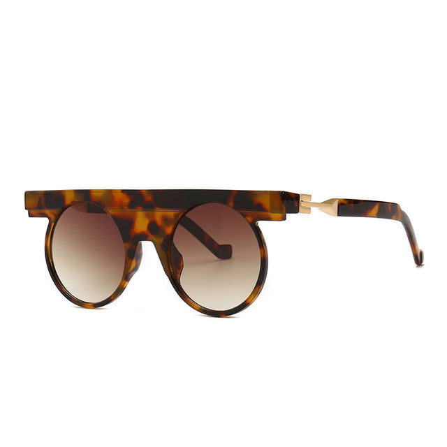 Pirend - C4 Leopard. Brown - Men's Sunglasses - Steampunk Sunglasses - Crissado